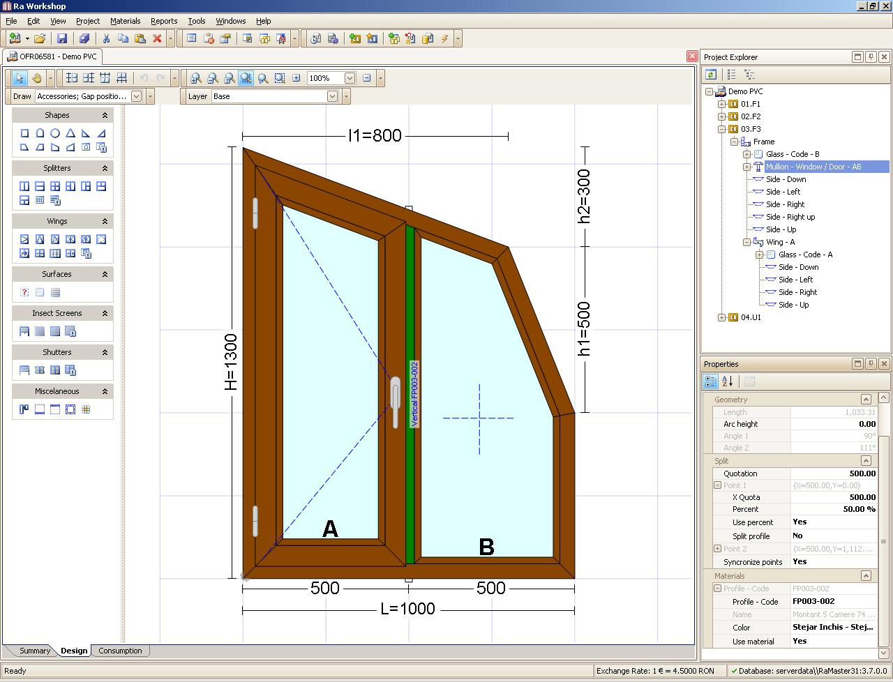 pvc, aluminiu, wood, windows, doors, software, cutting optimization